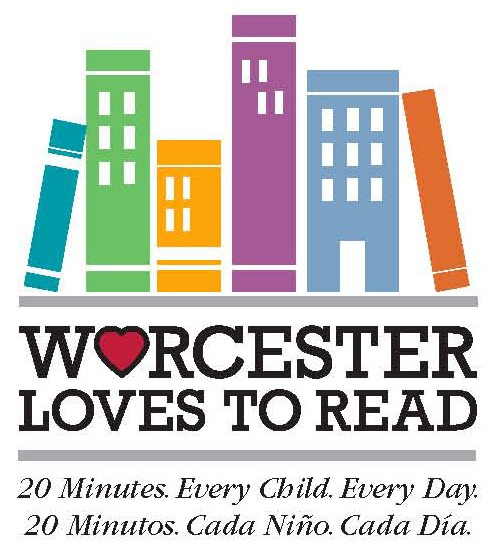 Worcester Loves to Read Color