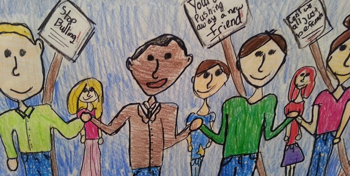 Students Reflect On MLK Jr.: The 2014 Art Contest Winners