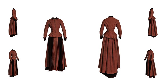Worcester Treasures: Swedish Dress