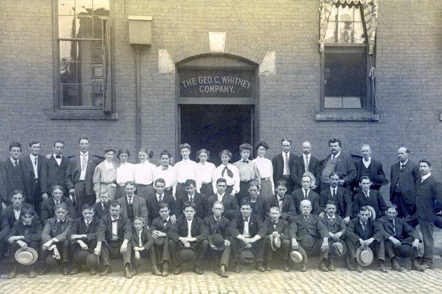 Employees of the George C. Whitney Whitney George C  Company Employees, c .1898