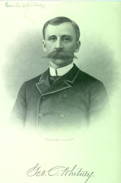 George C. Whitney, c. 1888