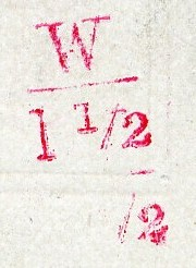 Early Whitney Company stamp, pre 1875.