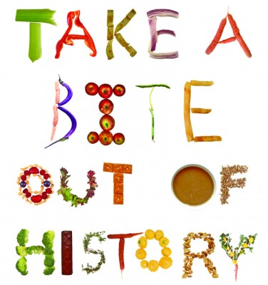 Take a Bite Out of History