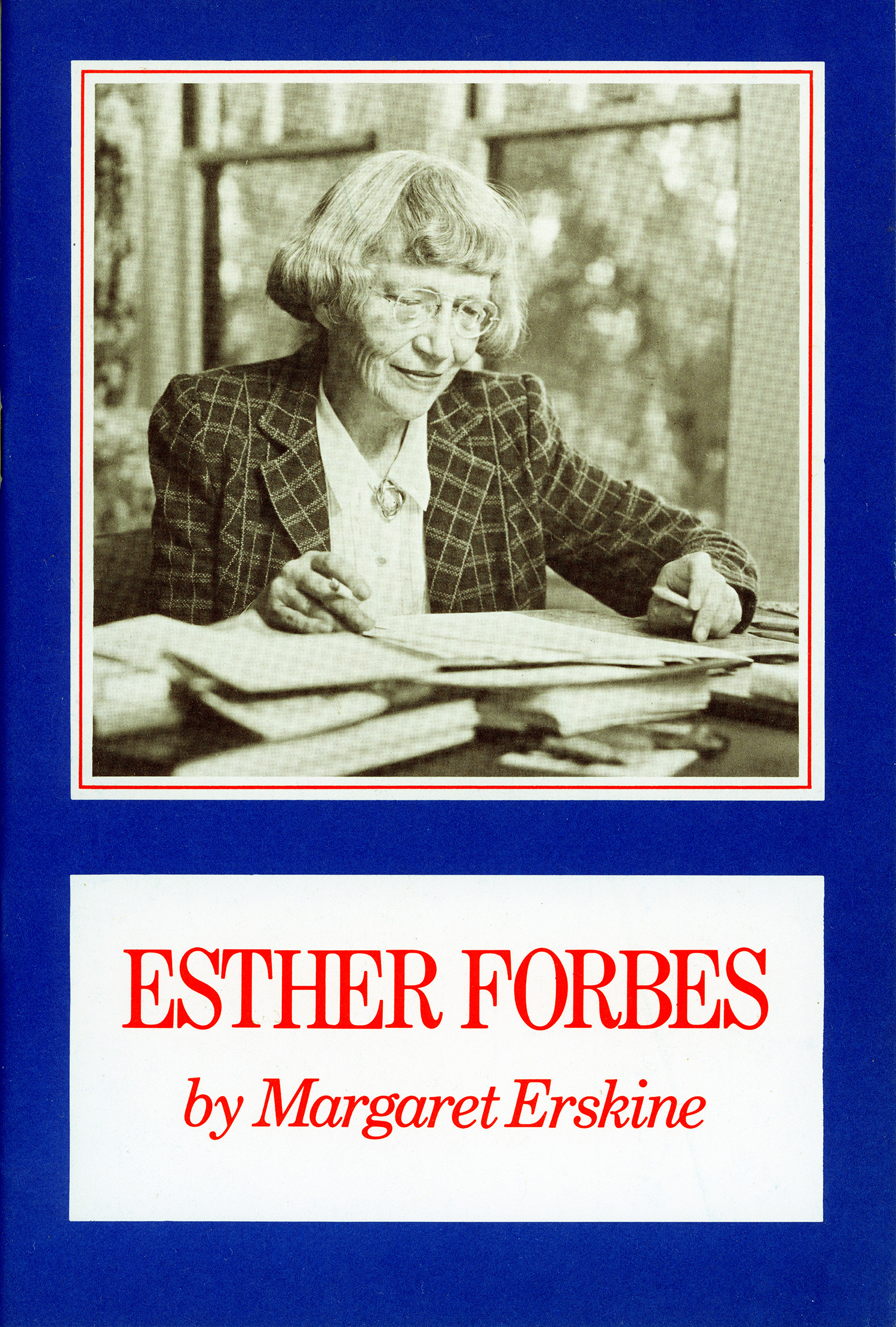 Esther Forbes by Margaret Erskine