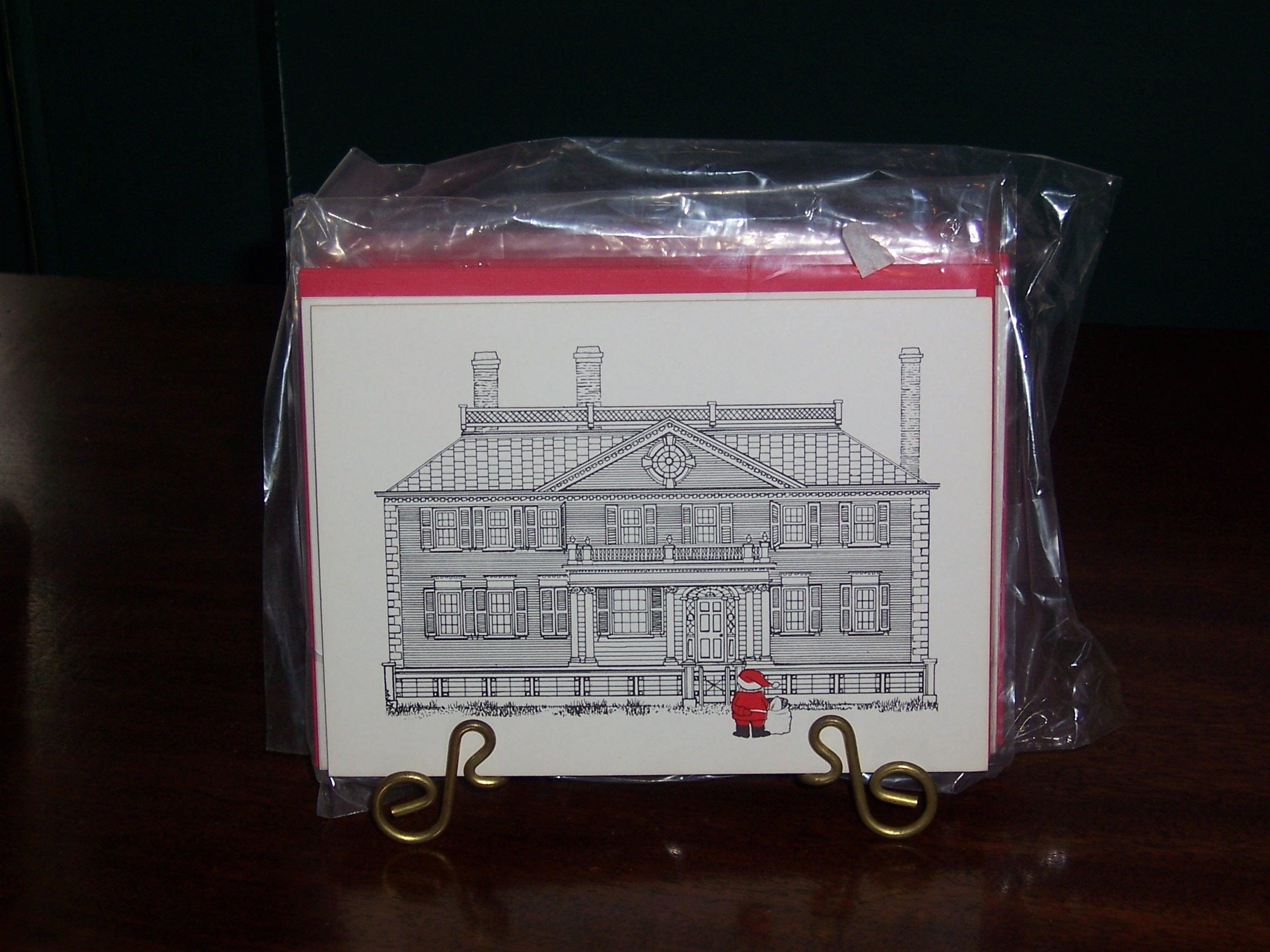 Set of six Christmas cards